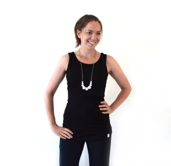 Breastfeeding Vest - Black