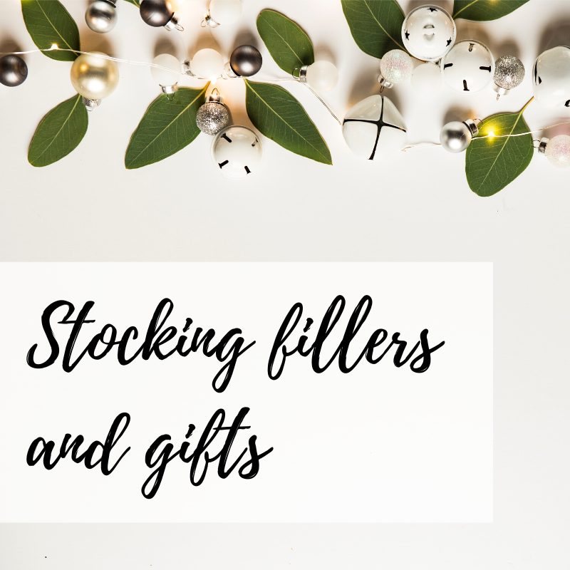 Stocking fillers and gifts