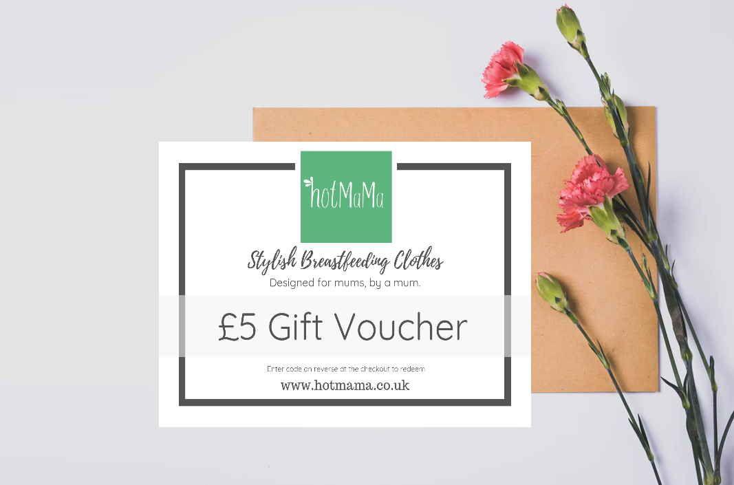 Breastfeeding Clothing - hotMaMa Gift Voucher £5