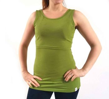 Breastfeeding Vest - Olive