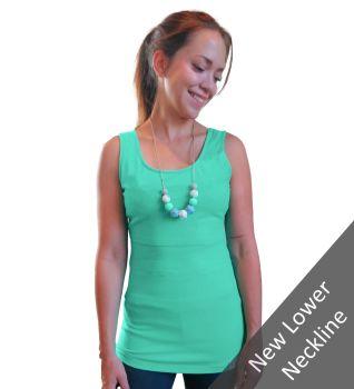 Breastfeeding Vest - Turquoise