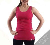 <!-- 058 -->Breastfeeding Vest - Raspberry