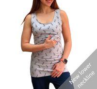 <!-- 040 -->Breastfeeding Vest - Milk Bottles