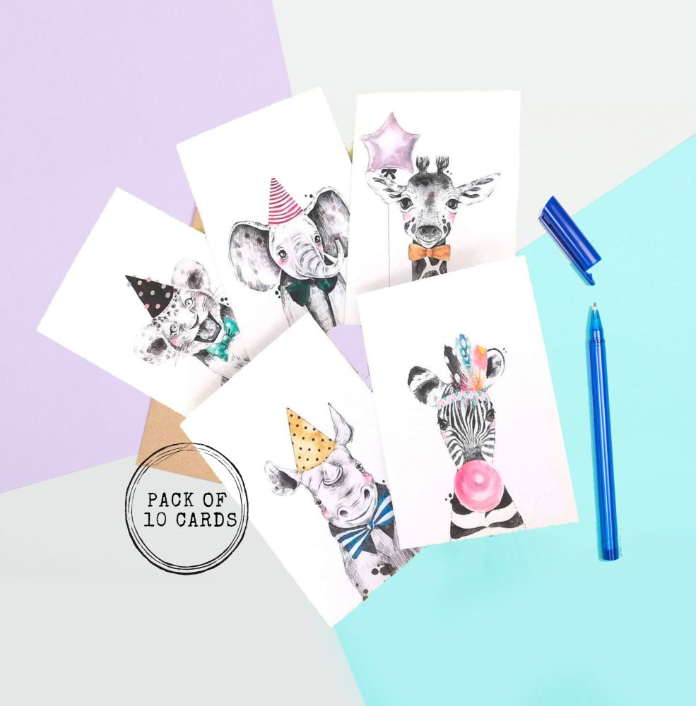 <!-- 001 -->Party Animal Cards