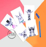 <!-- 010 -->Cool Hipster Animal Cards