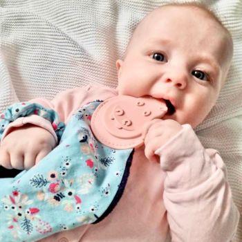 Comfortchew -Baby Comforter in Botanical Bloom