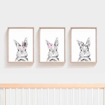 Nursery Prints - Rabbit