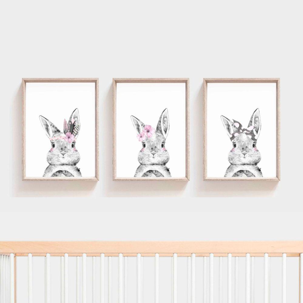 <!-- 054 --> Nursery Prints - Rabbit