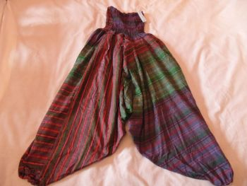 Stripey Ali Baba trouser 3/4 length