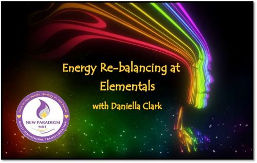 Energy rebalancing at Elementals. Deposit only
