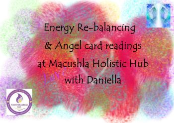 Energy Rebalancing & Angel card readings at Macushla Holistic Hub 1/2hr session