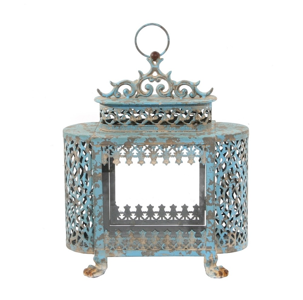French Blue lantern Small