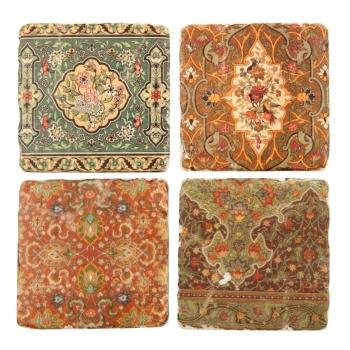 Liberty Ceramic Tile Coasters