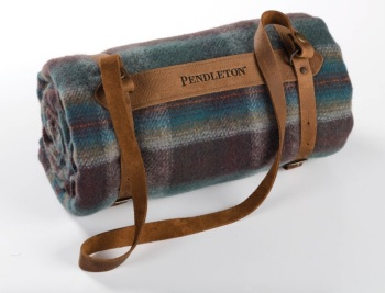 Pendleton Leather Blanket Carry Strap