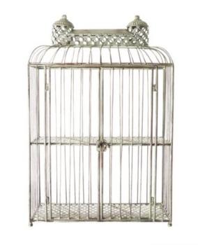 Brocante Verdigris Birdcage - 68cm