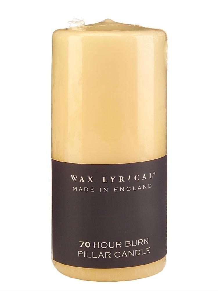 Wax Lyrical Pillar Candle - Cream