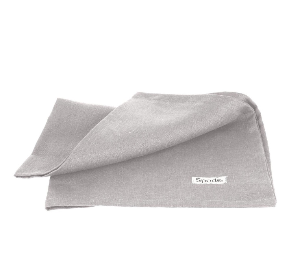 Linen Tea Towel - Grey