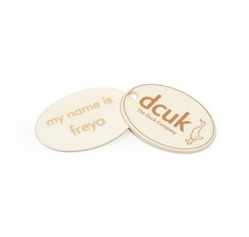 DCUK Personalised Name Tag - Duck