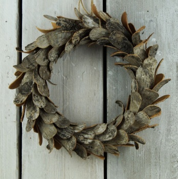 The Satchville Gift Company Birch Bark Wreath - 38cm