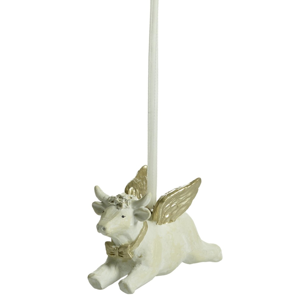 Naasgransgarden Flying Cow Decoration 6.2cm