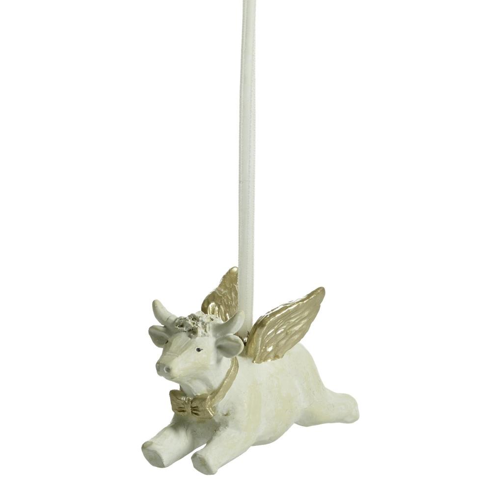 Naasgransgarden Flying Cow Decoration 6.2cm