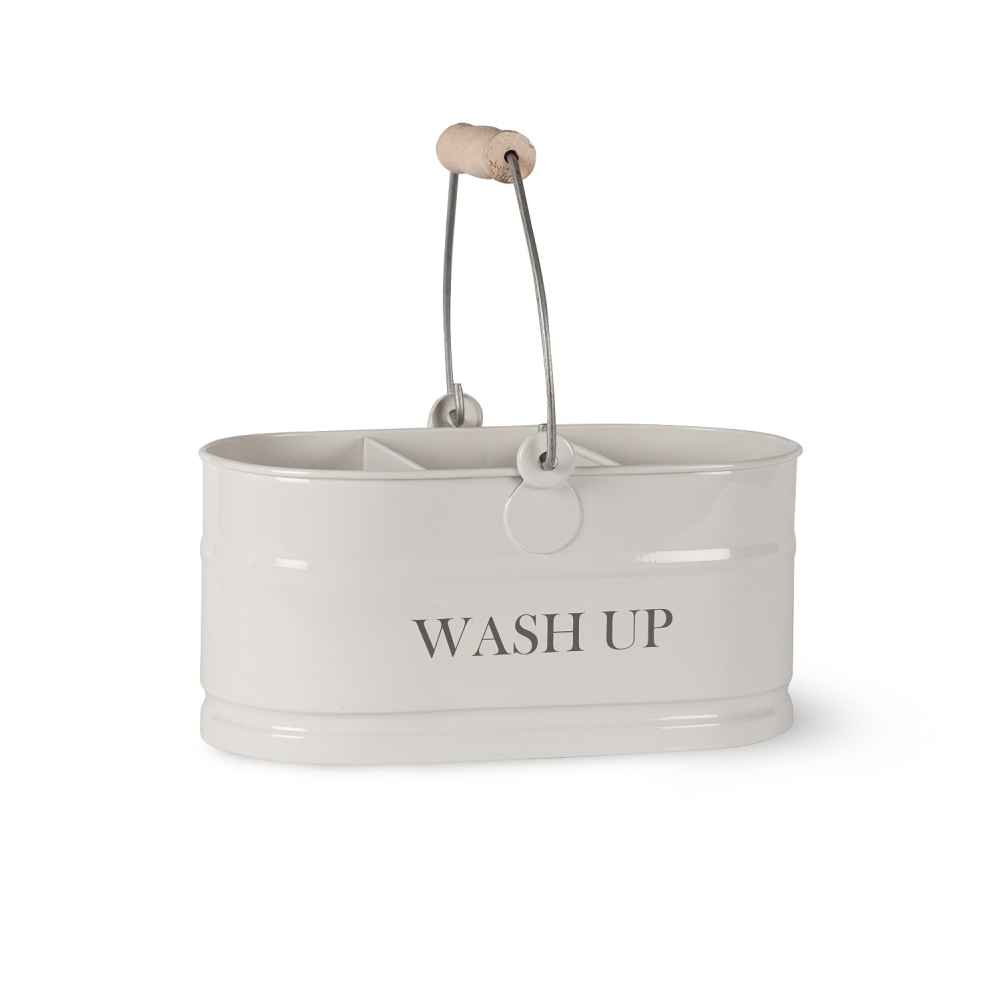 Garden Trading Washing Up Tidy Bucket - Chalk