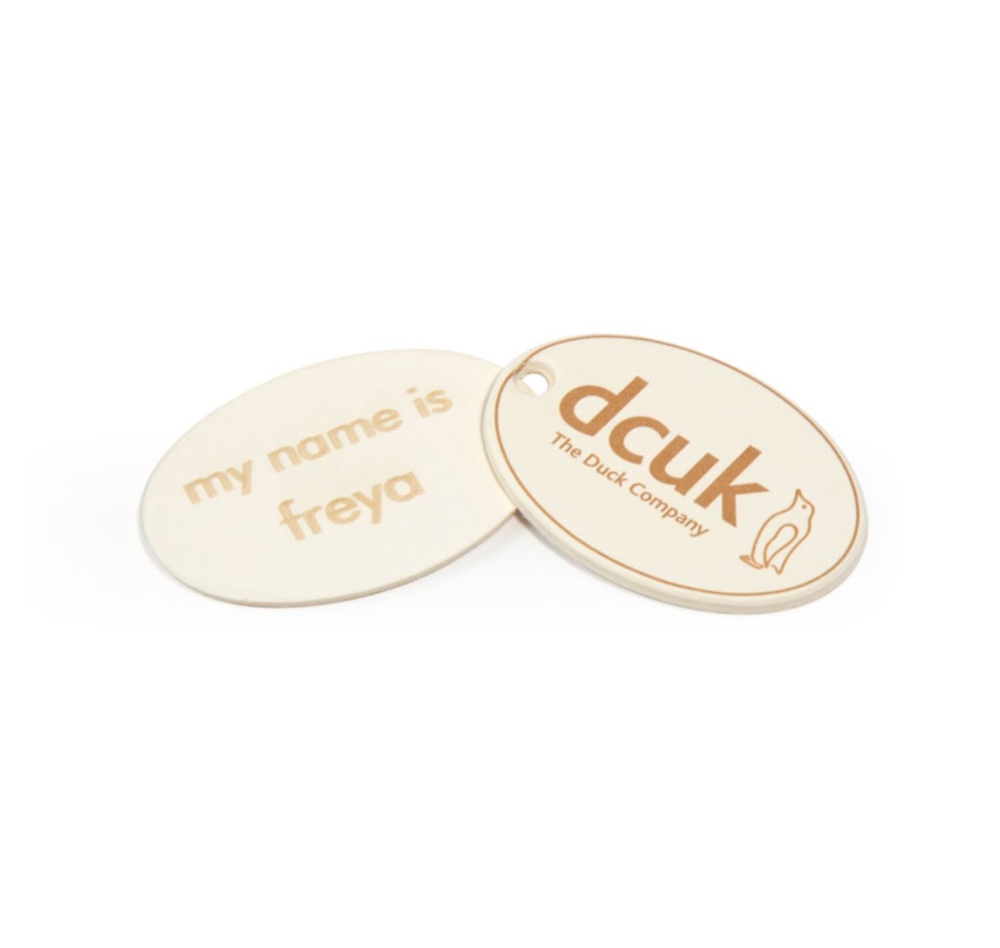 DCUK Personalised Name Tag - Penguin