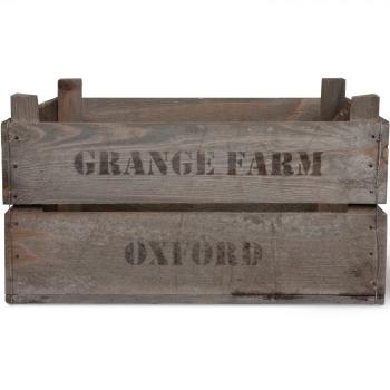 Garden Trading Wooden Grange Farm Fruit Box - AVAILABLE TO ORDER