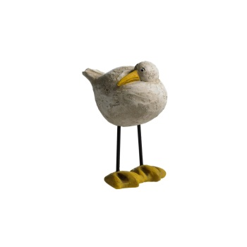 Naasgransgarden Side Facing Seagull Ornament - Small