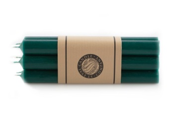 "St Eval 8"" Dinner Candles - Woodland Green"