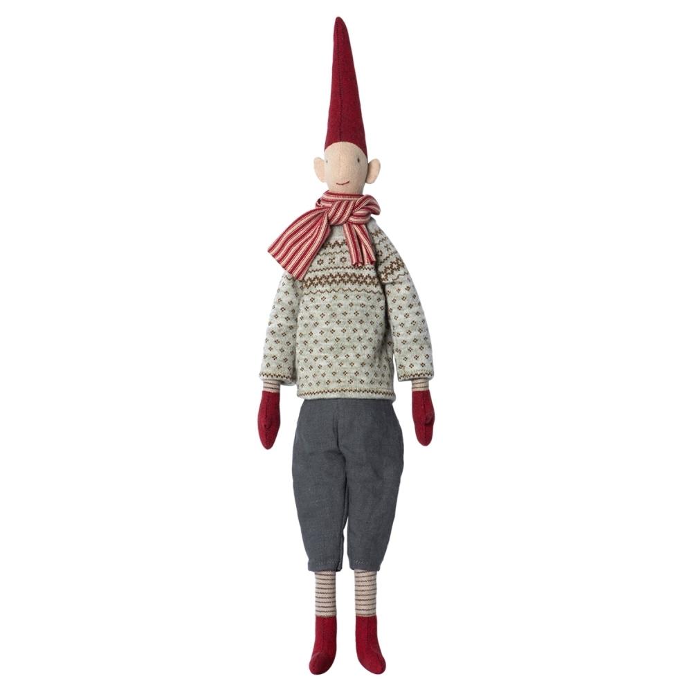 Maileg Morten Christmas Pixy - Medium 52cm