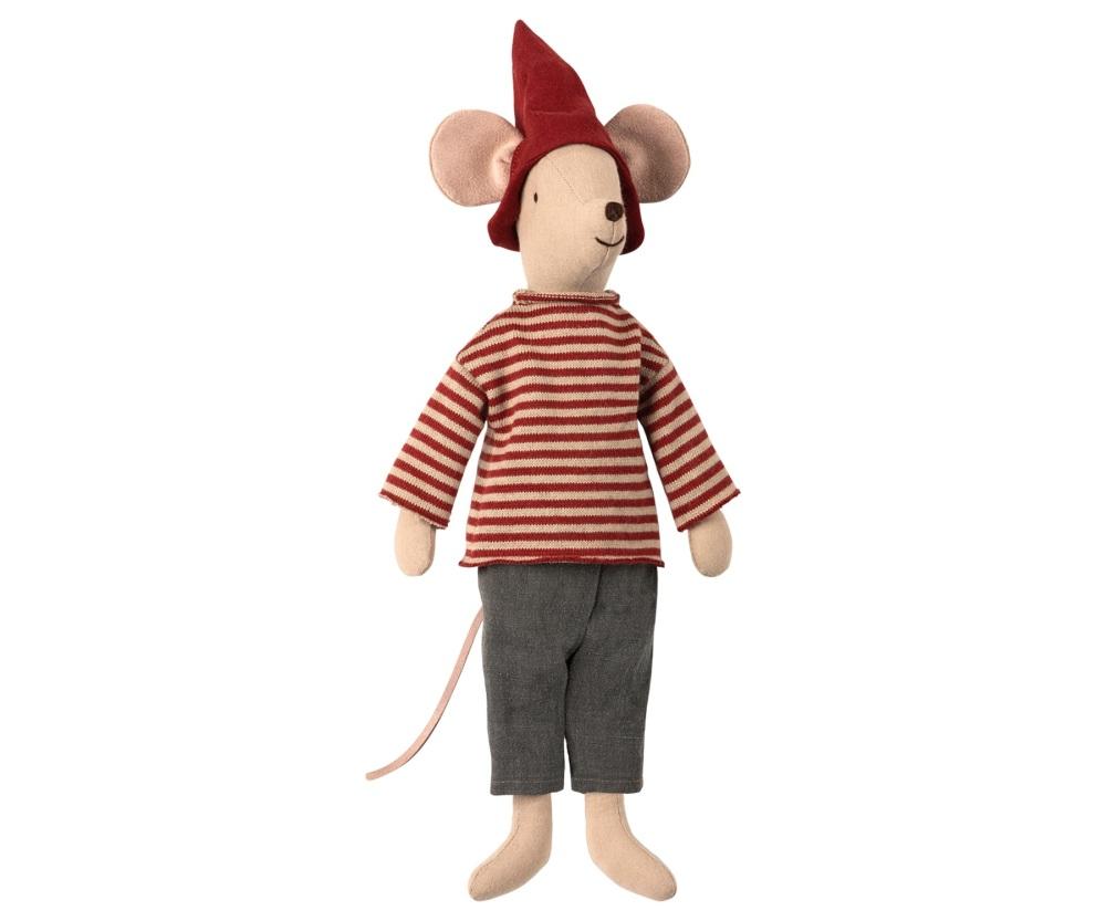 Maileg Christmas Mouse Boy - Medium  37cm