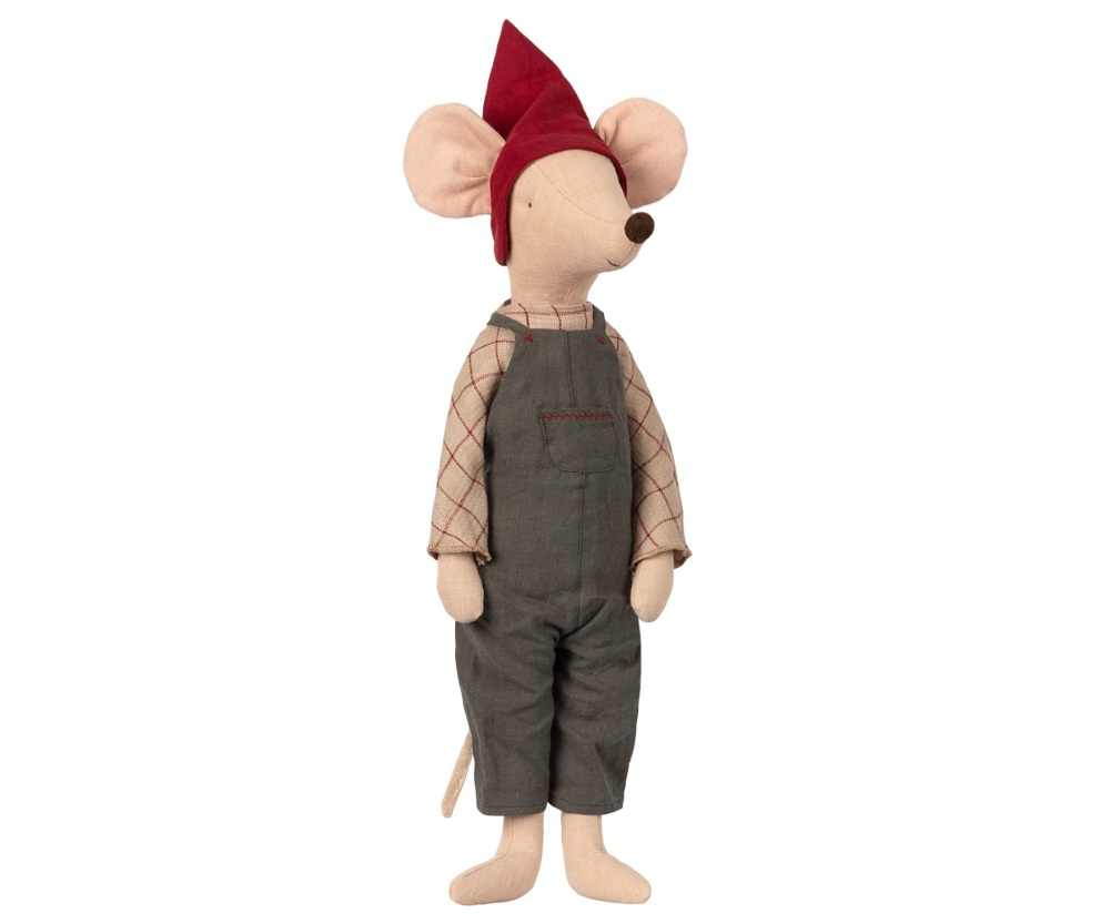 Maileg Maxi Christmas Pixy Boy Mouse