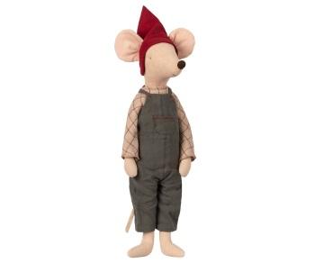 Maileg Christmas Pixy Boy Mouse - Maxi 56cm