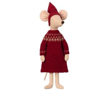 Maileg Christmas Pixy Girl Mouse - Maxi 56cm