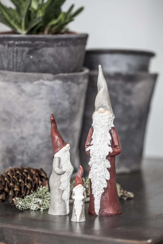 Naasgransgarden Santa Walter Ornaments - Set of 3