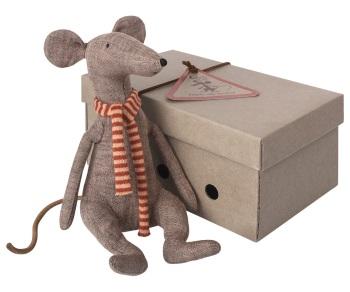 Maileg Cool Rat - Grey