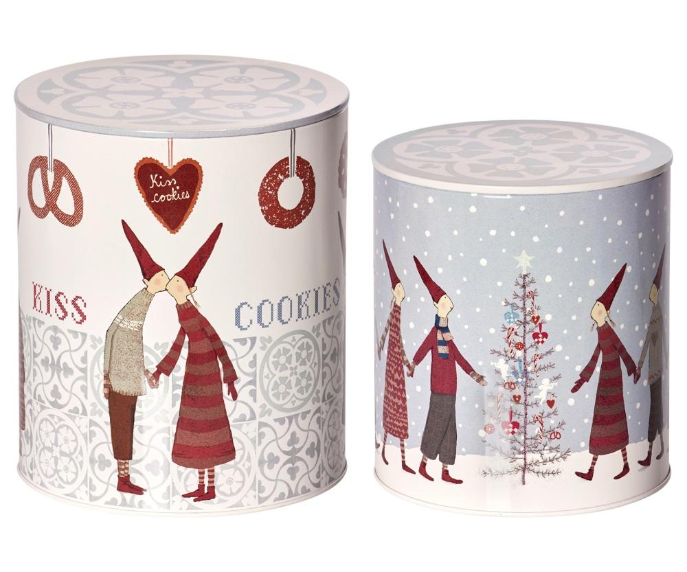 Maileg Pixy Set of 2 Cookie Tins