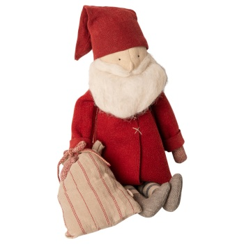 Maileg Christmas Winter friends Santa with Sack