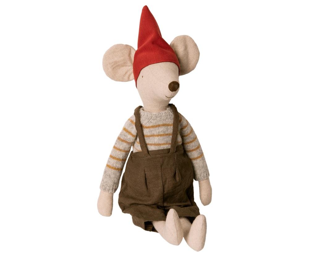 Maileg Christmas Mouse, Maxi - Boy