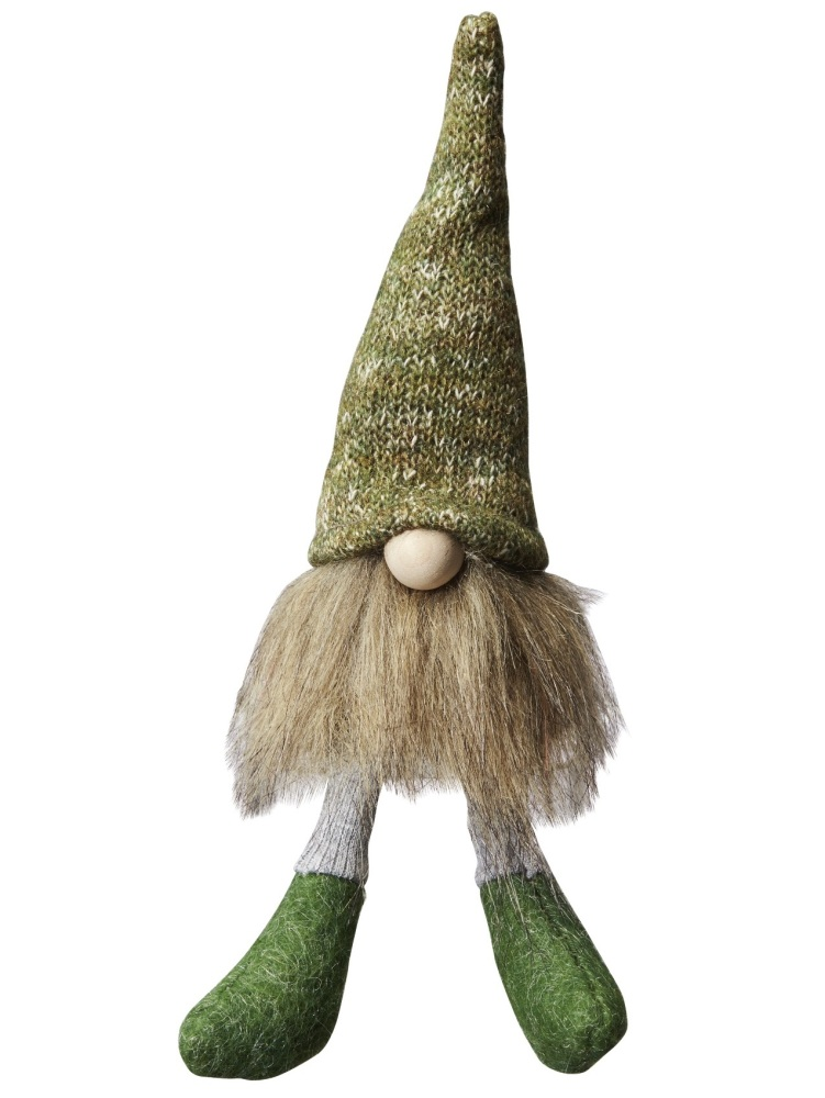Green Scandinavian Tomte - Small