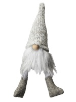 Light Grey Scandinavian Tomte - Small