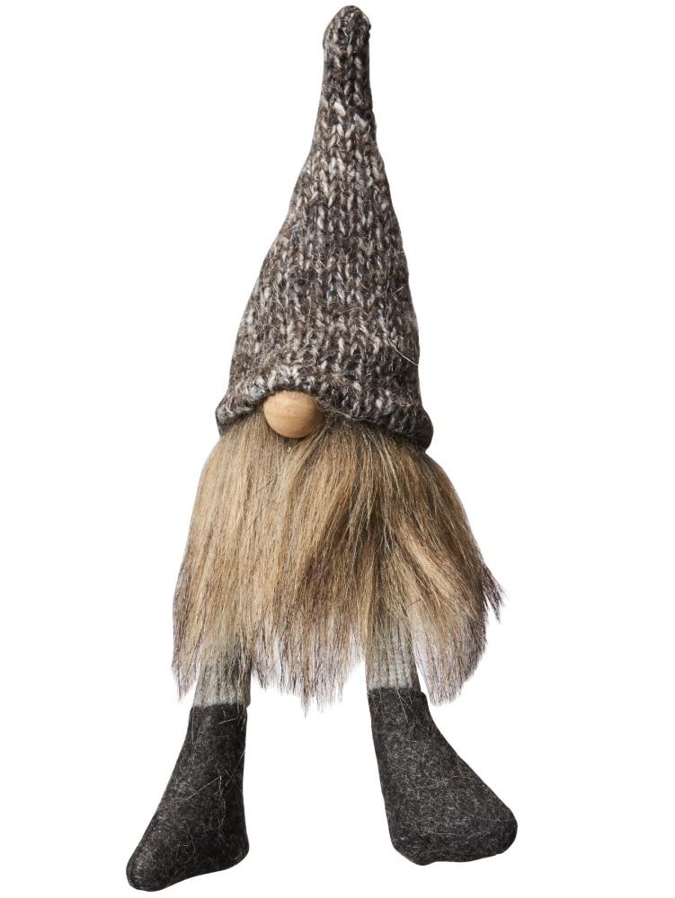 Dark Grey Scandinavian Tomte - Small