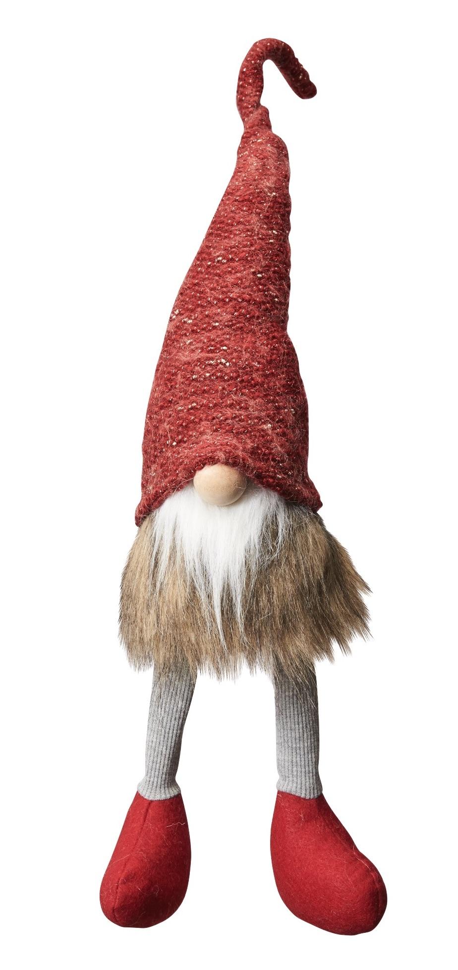 Red Scandinavian Tomte - Large