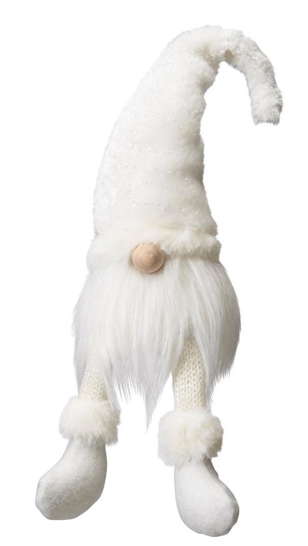 White Scandinavian Tomte Father - Medium