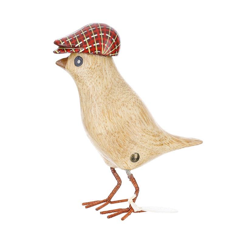 Dcuk Garden Bird - Red Flat Cap