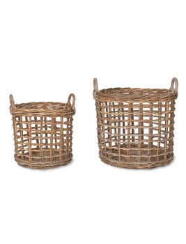 Garden Trading Set of 2 Open Weave Baskets - SPECIAL OFFER