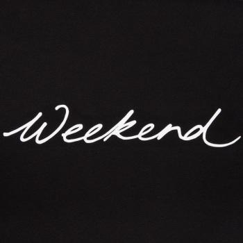 Chalk UK Robyn Top - Black - Weekend