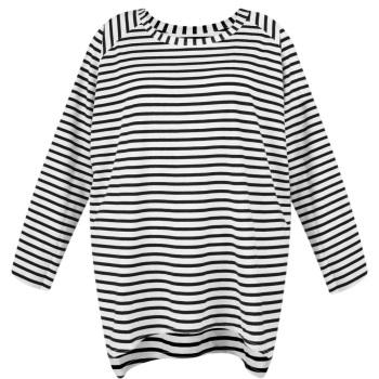 Chalk UK Robyn Top - Black - Stripe