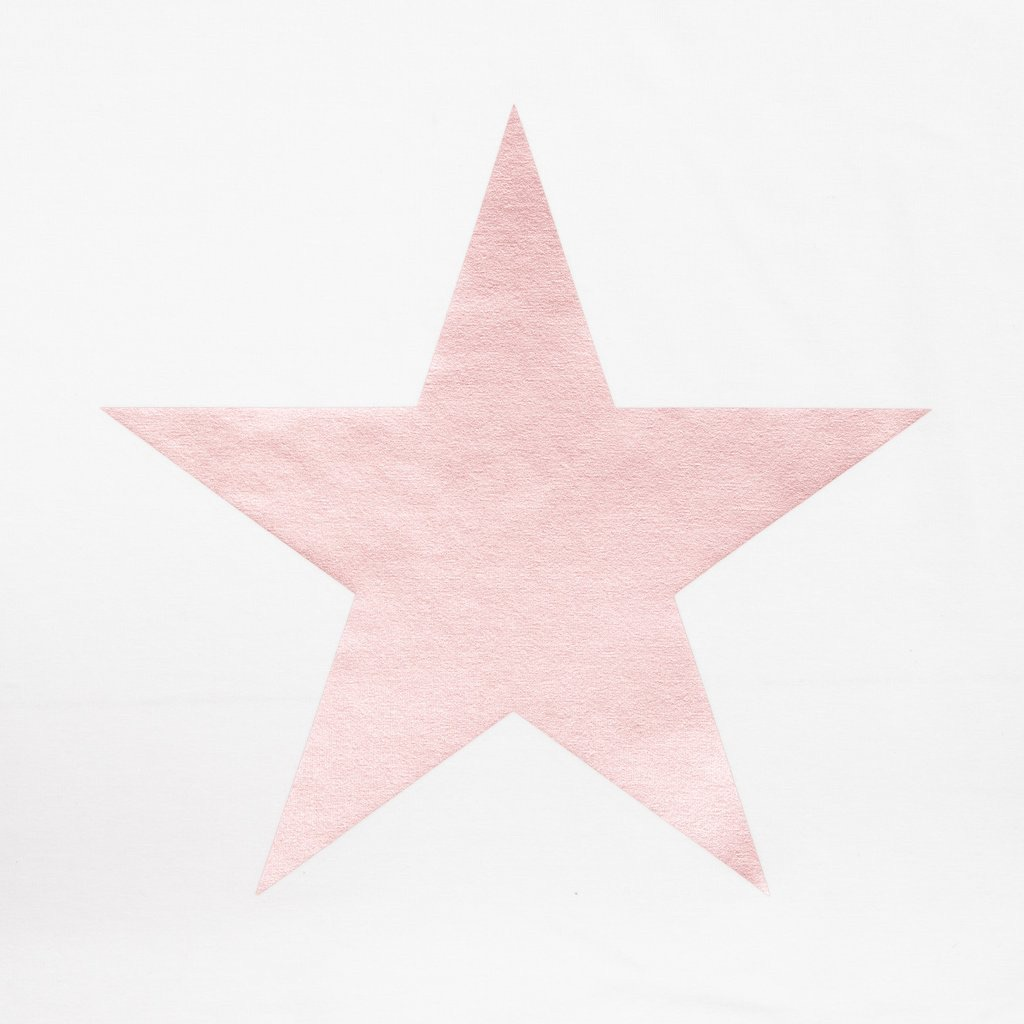 Chalk UK Robyn Top - White with Pink Star
